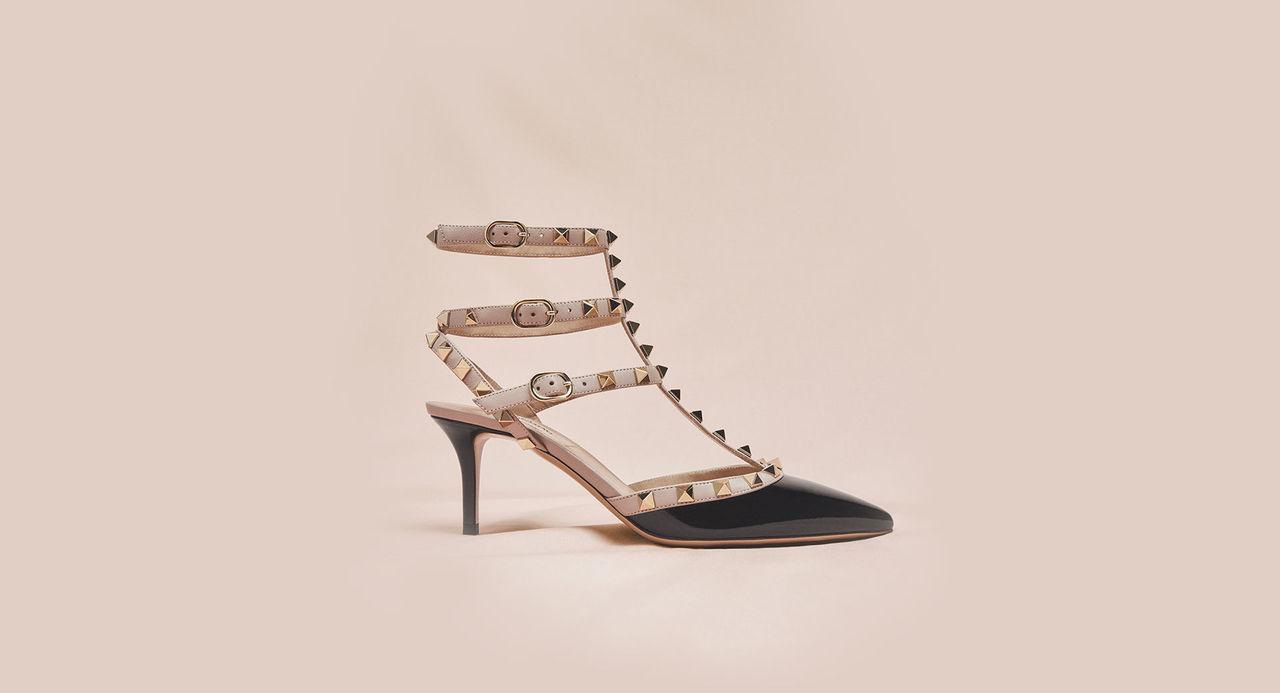 25452210e799 Valentino Garavani Rockstud shoes  heels   flats